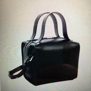 French Connection-Black Owen Mini-Box Bag